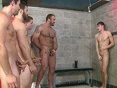 Jizz Shower - JO - Jizz Orgy - Spencer Reed - Tommy Defendi - Jimmy Johnson - Jack King - Hunter Page, Added: 2013-05-27, Duration: 1:08