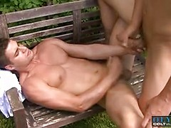 Lance Seawell and Walter Uwe in Getting It, Scene 1, Added: 2014-12-10, Duration: 1:12