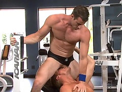 Gavin Waters and Rusty Stevens. Workout and fuck., Added: 2011-12-21, Duration: 4:37